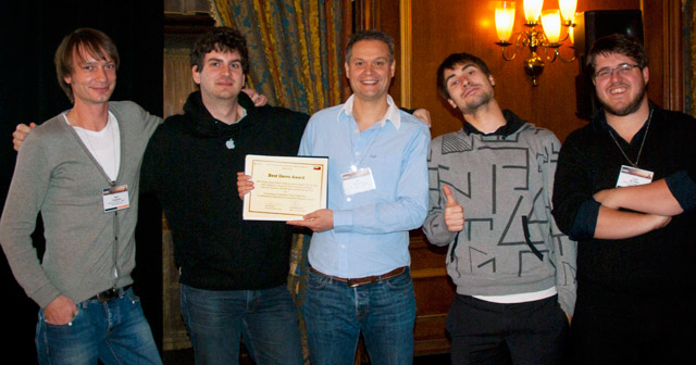 [Multimedia Lab wins the Best Demo Award at ISWC 2012]